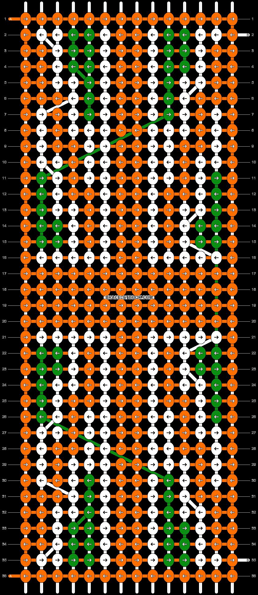 Alpha pattern #6289 pattern