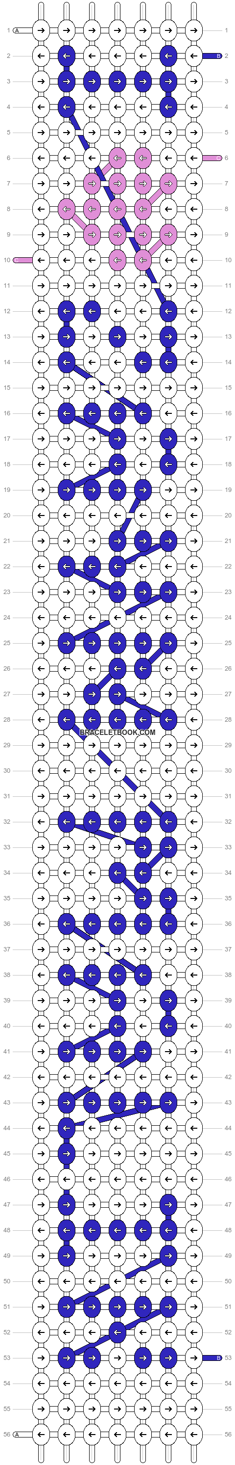 Alpha pattern #6290 pattern