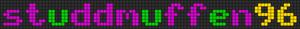Alpha Friendship Bracelet Pattern #6296