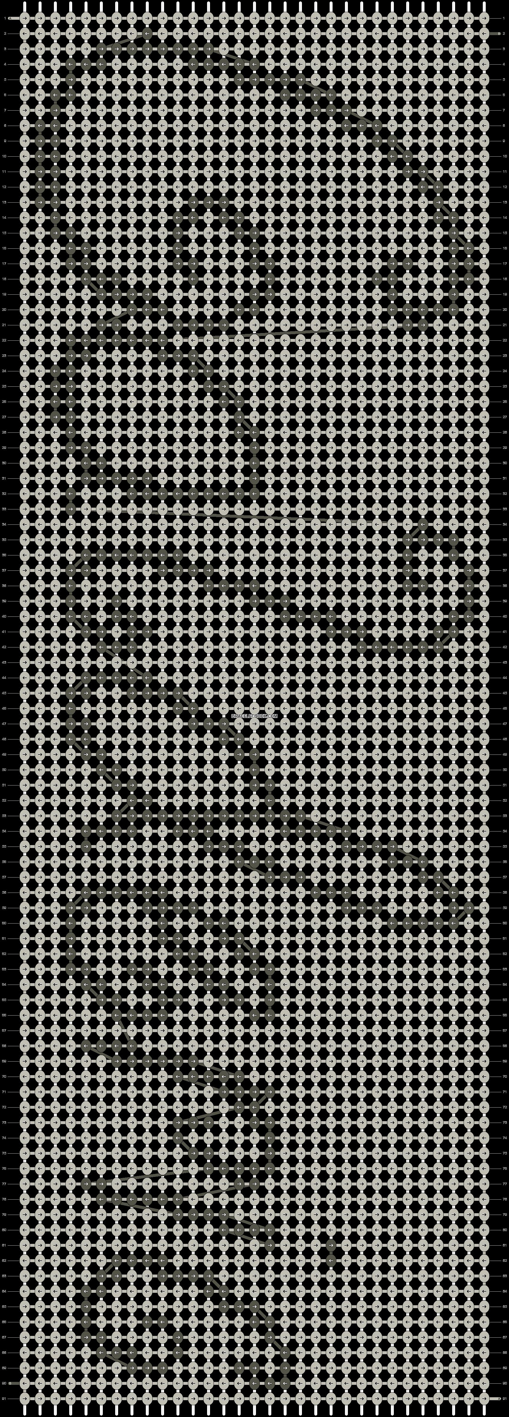 Alpha pattern #6302 pattern