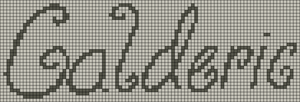 Alpha pattern #6302