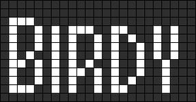Alpha pattern #6303