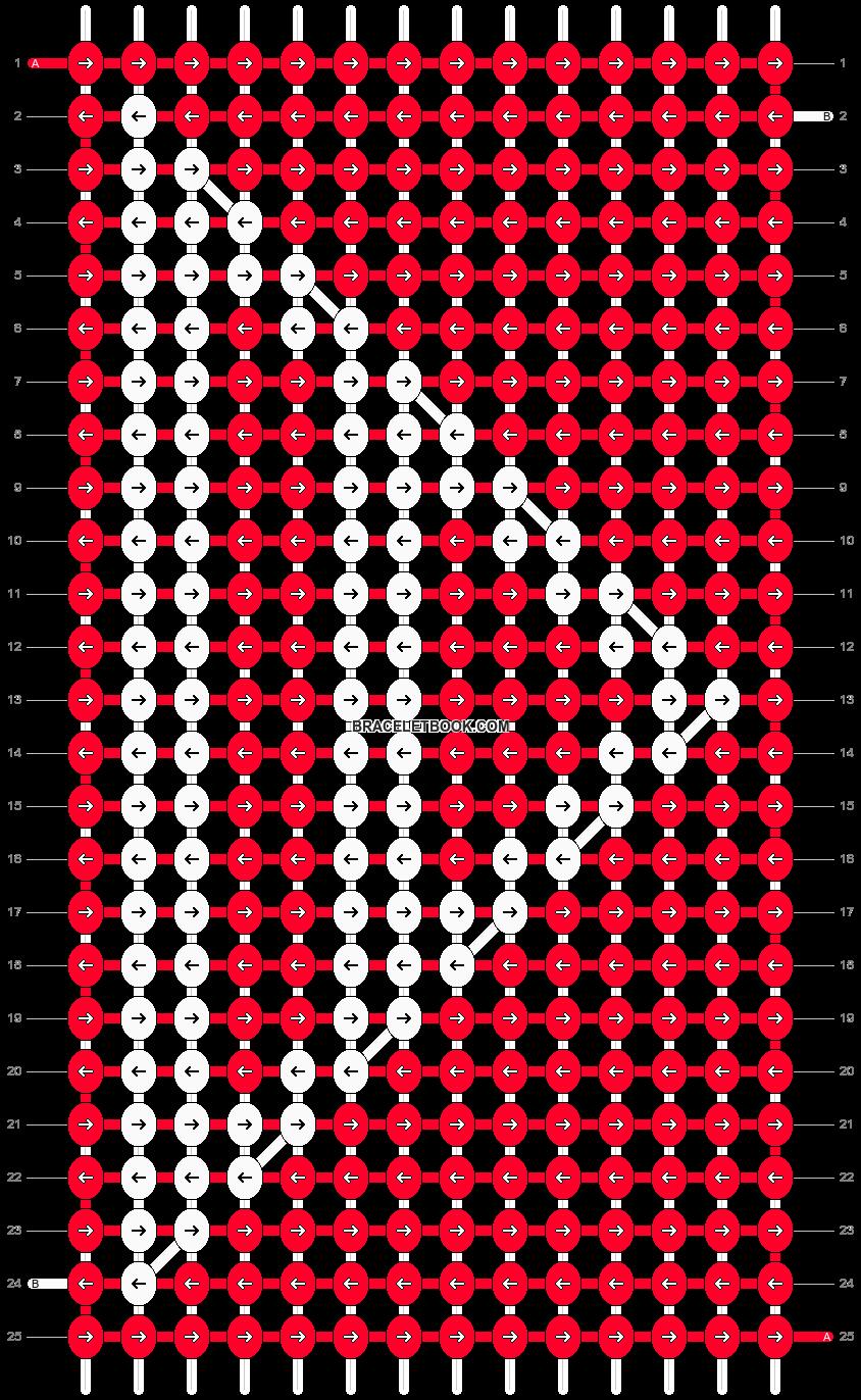 Alpha pattern #6318 pattern