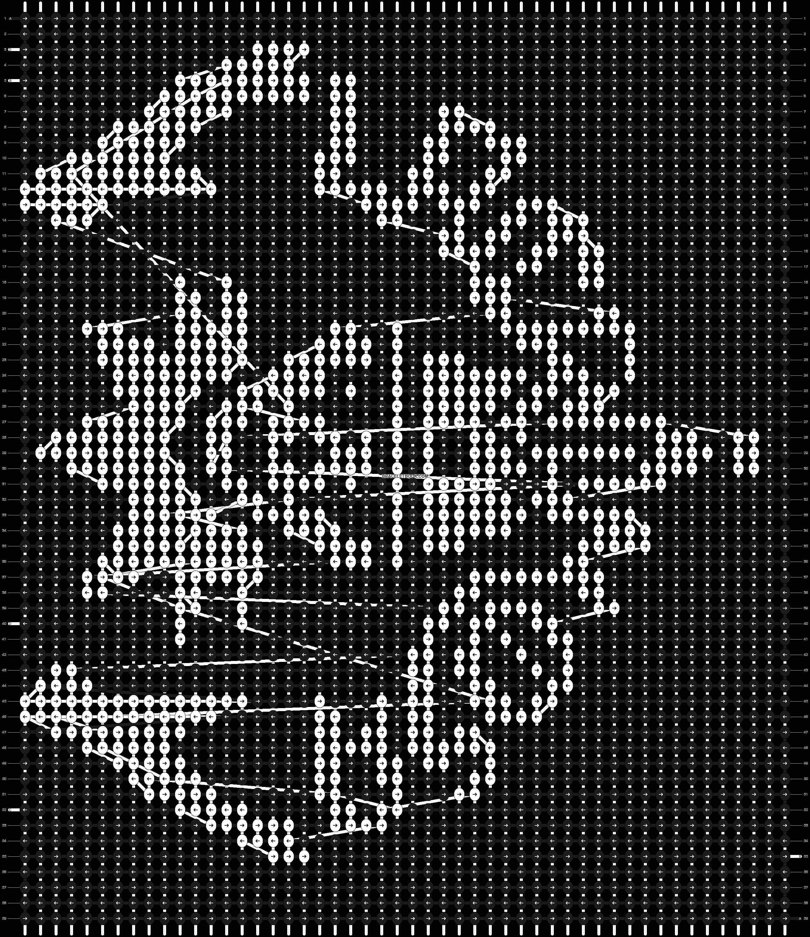 Alpha pattern #6320 pattern