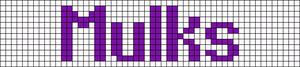 Alpha pattern #6324