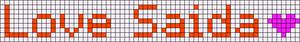 Alpha pattern #6326