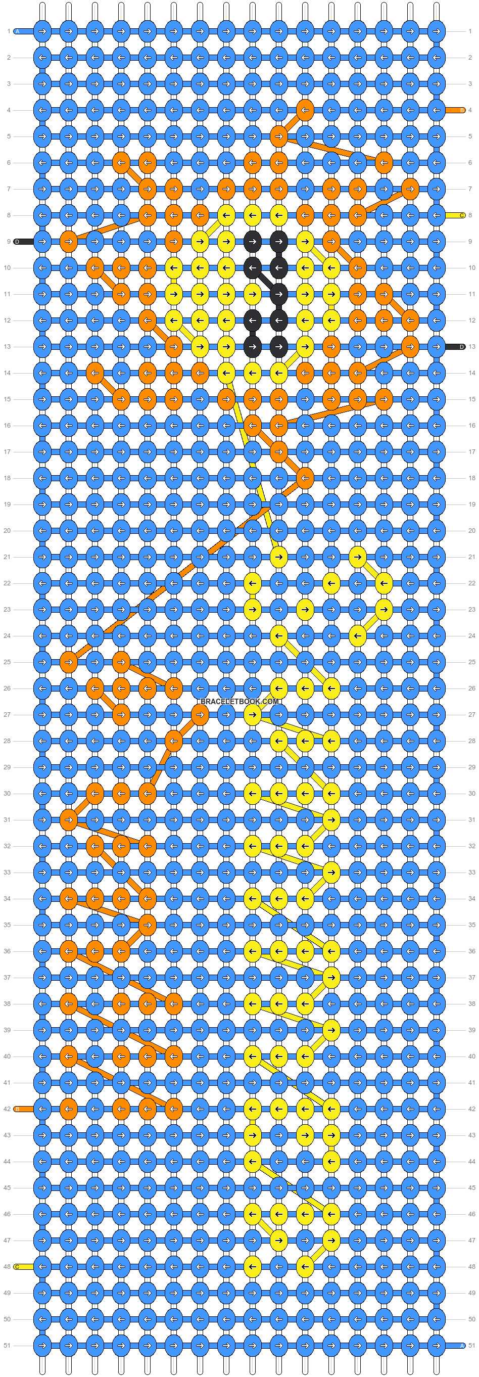 Alpha pattern #6335 pattern