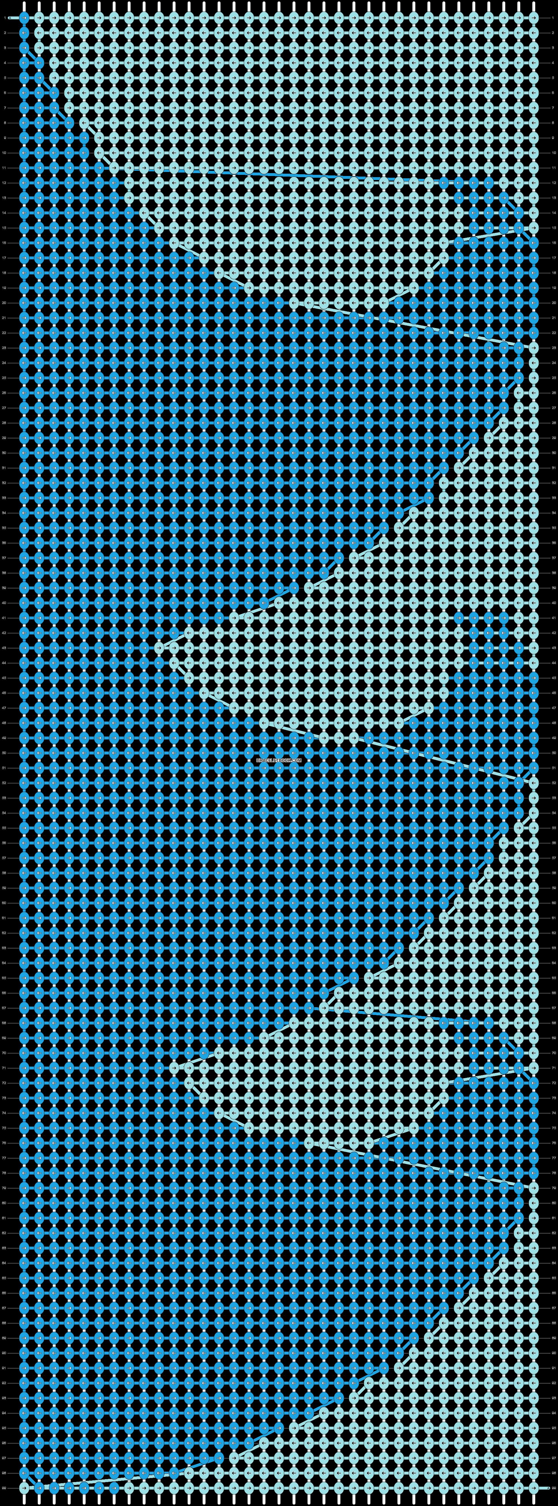 Alpha pattern #6348 pattern