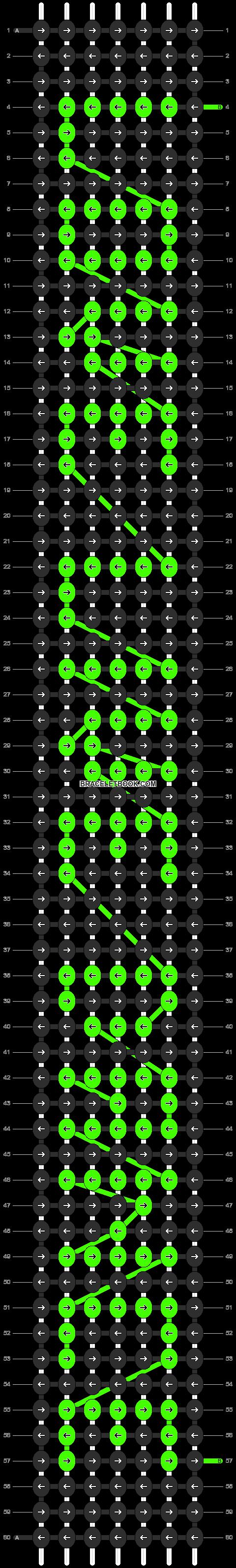 Alpha pattern #6351 pattern