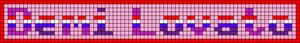 Alpha pattern #6361