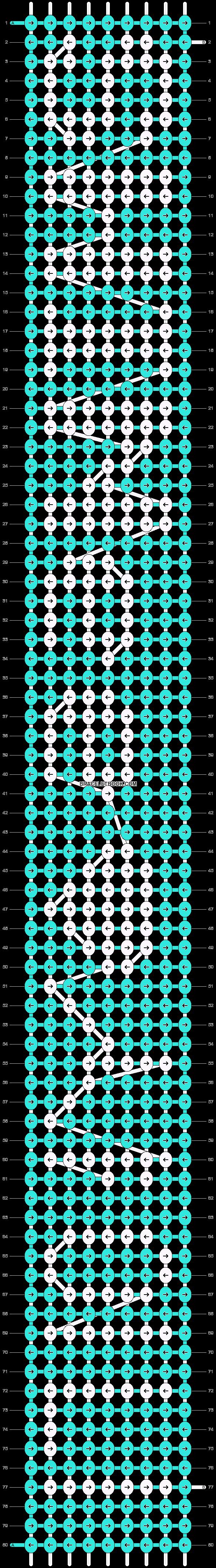 Alpha pattern #6364 pattern