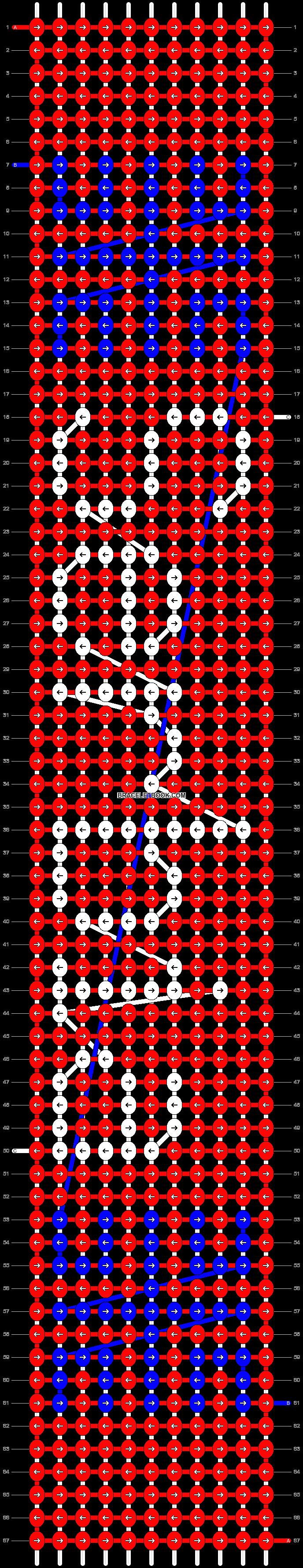 Alpha pattern #6367 pattern