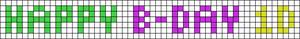 Alpha pattern #6377