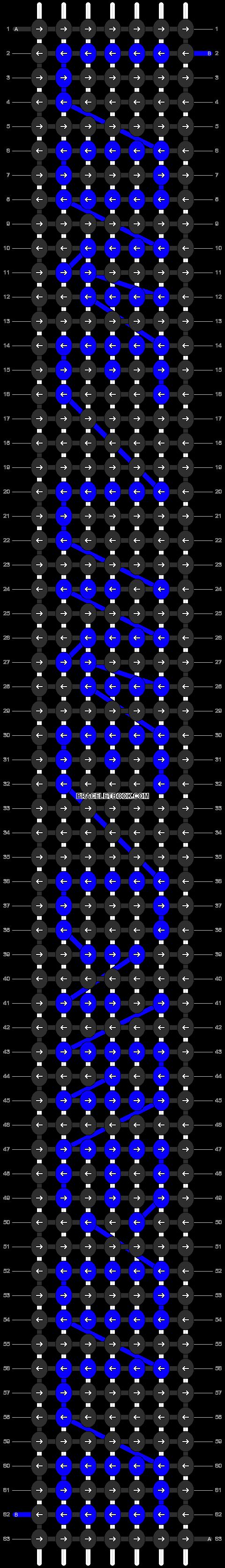 Alpha pattern #6378 pattern