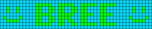 Alpha pattern #6382