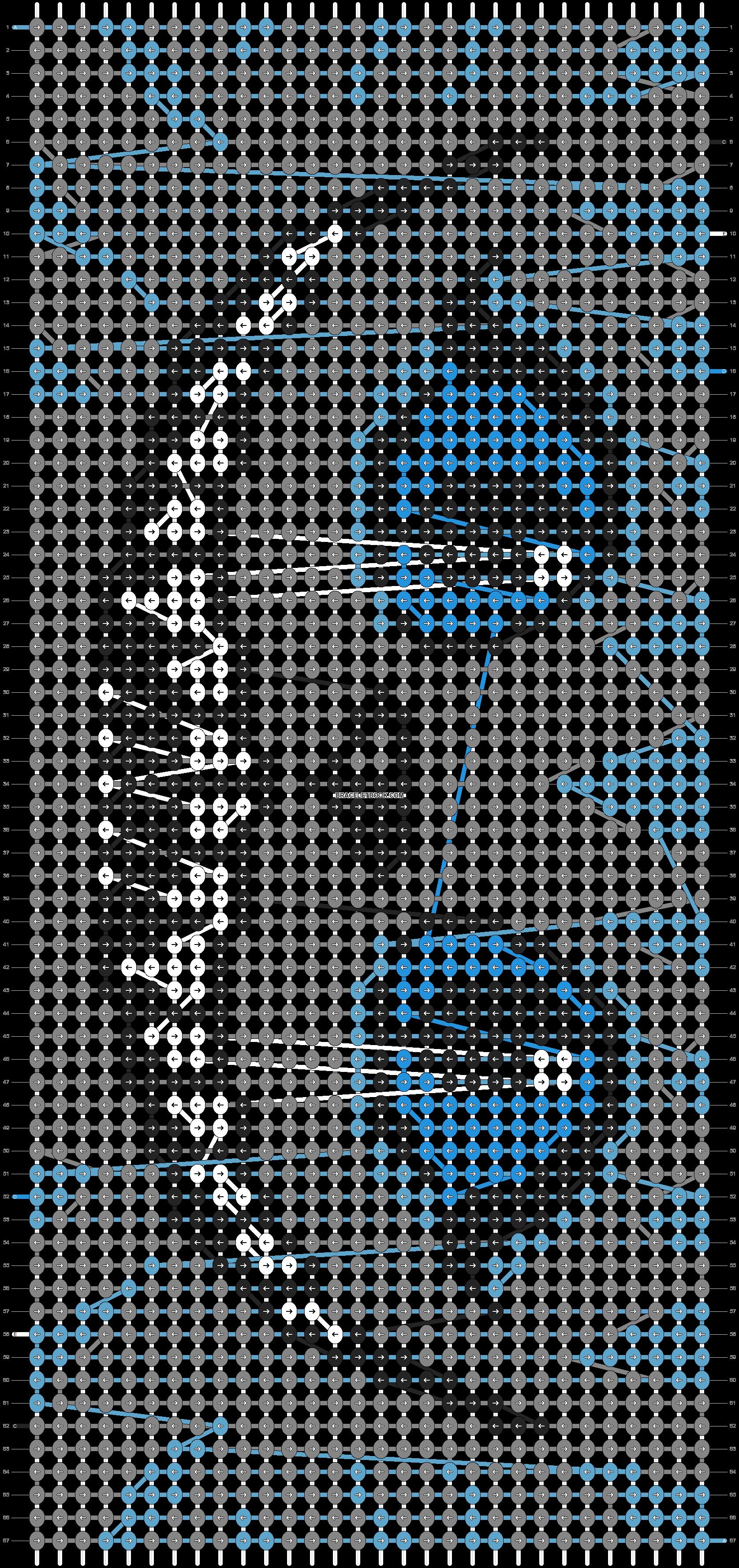 Alpha pattern #6383 pattern