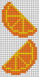 Alpha Friendship Bracelet Pattern #6387