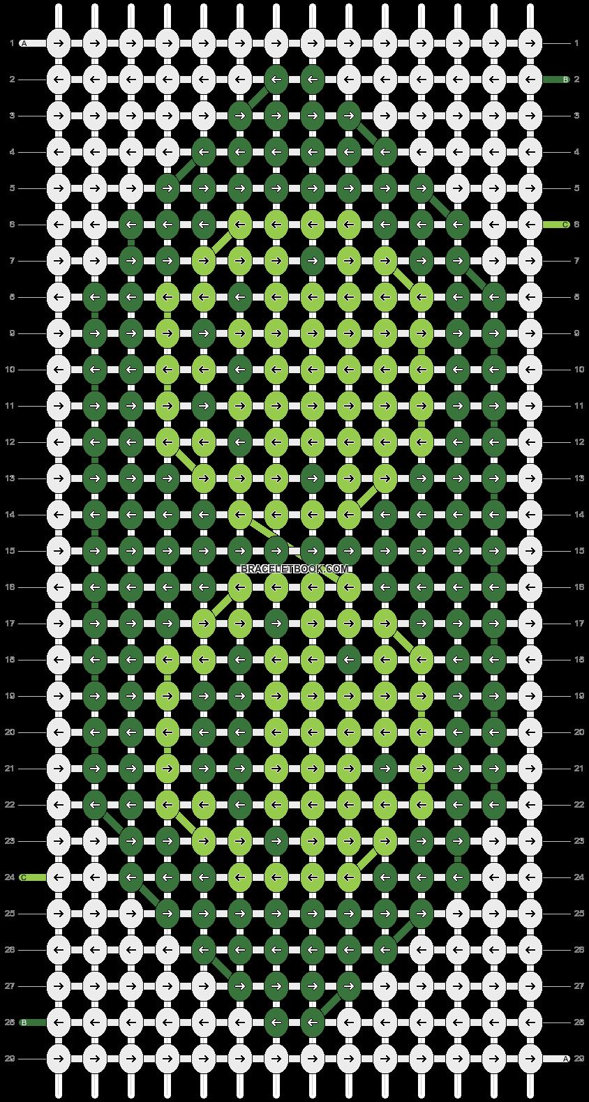 Alpha pattern #6397 pattern