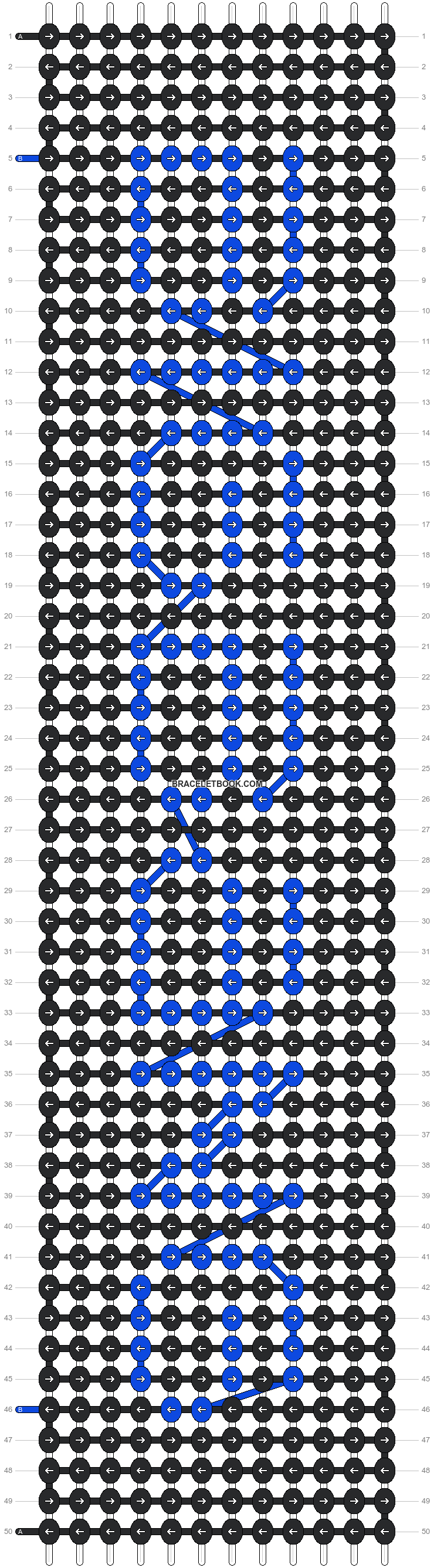 Alpha pattern #6401 pattern