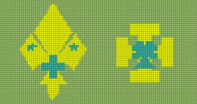 Alpha pattern #6406