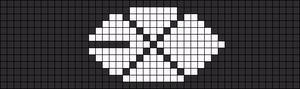 Alpha pattern #6413