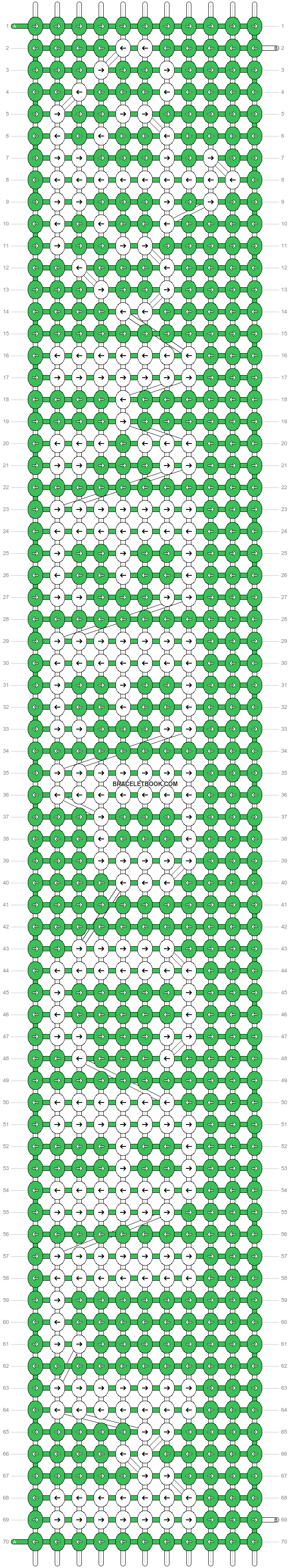 Alpha pattern #6415 pattern