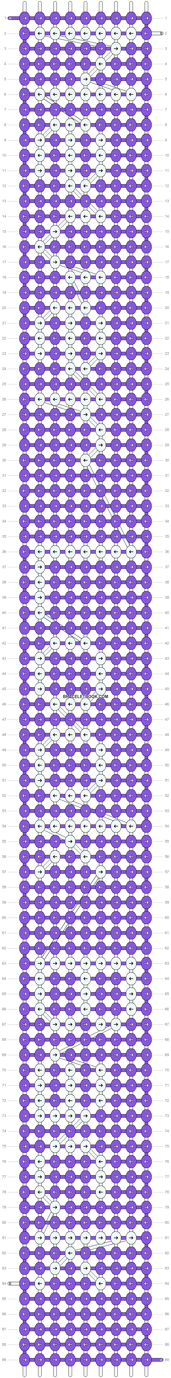 Alpha pattern #6419 pattern