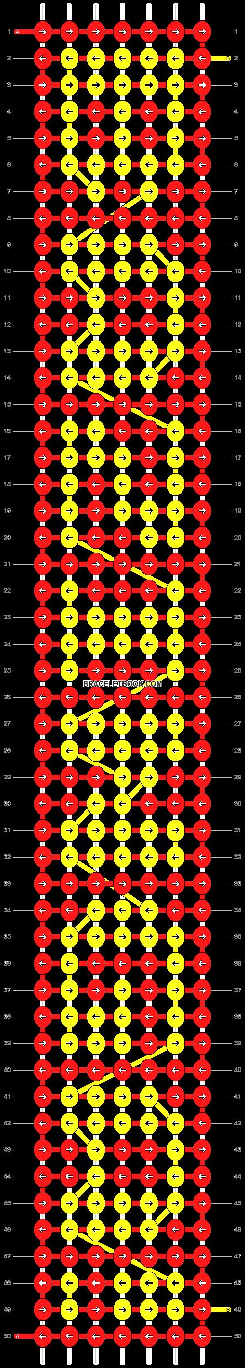 Alpha pattern #6424 pattern