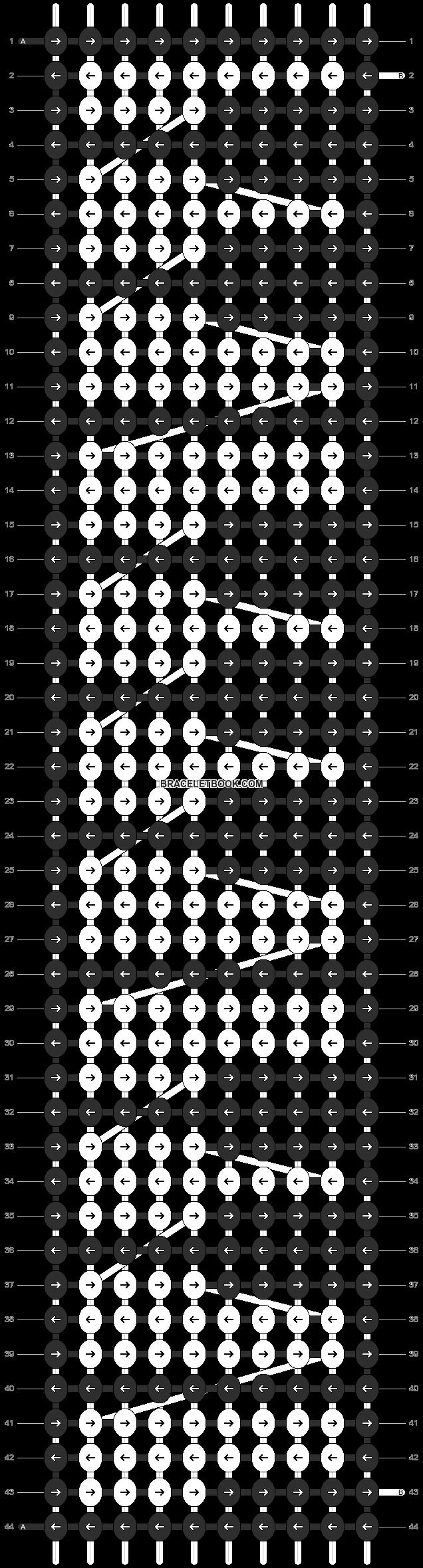 Alpha pattern #6426 pattern