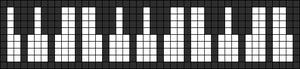 Alpha pattern #6426