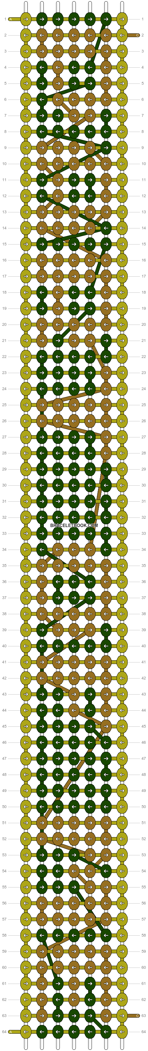 Alpha pattern #6430 pattern