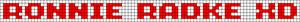 Alpha pattern #6433