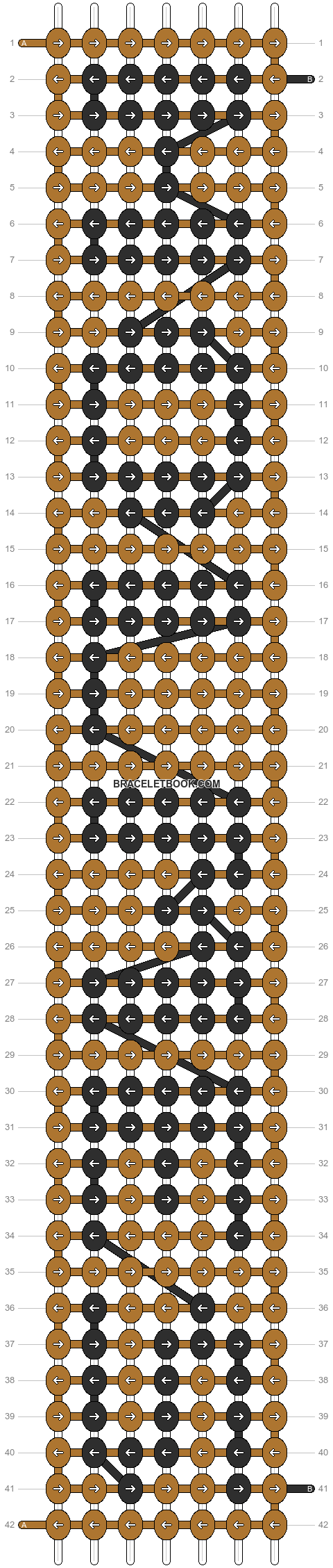 Alpha pattern #6434 pattern