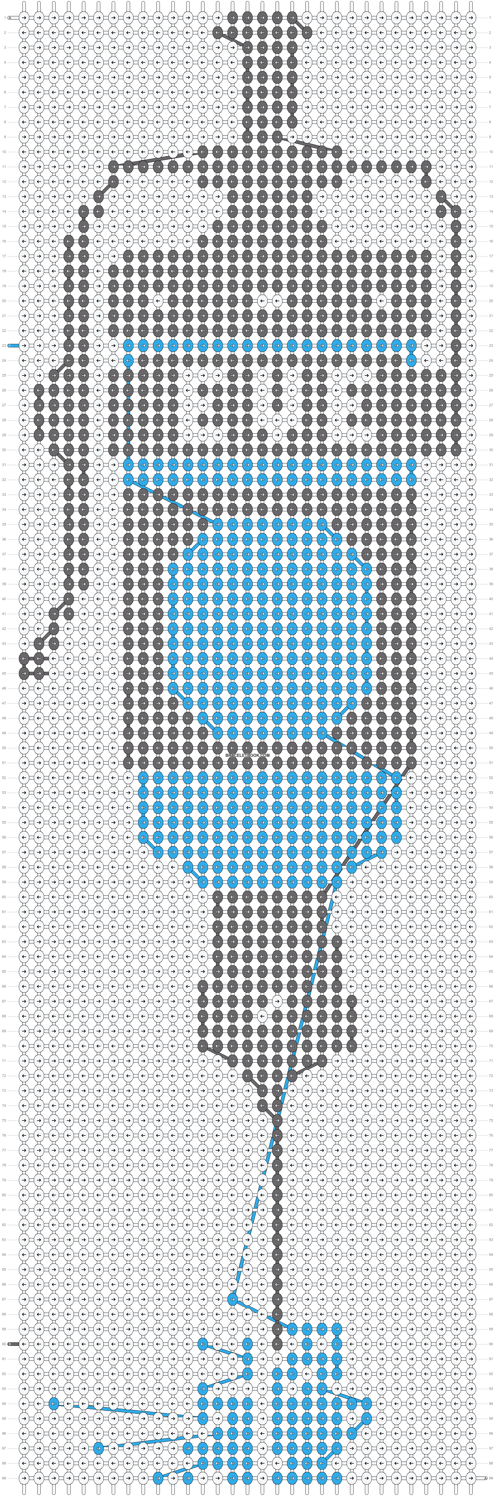 Alpha pattern #6437 pattern