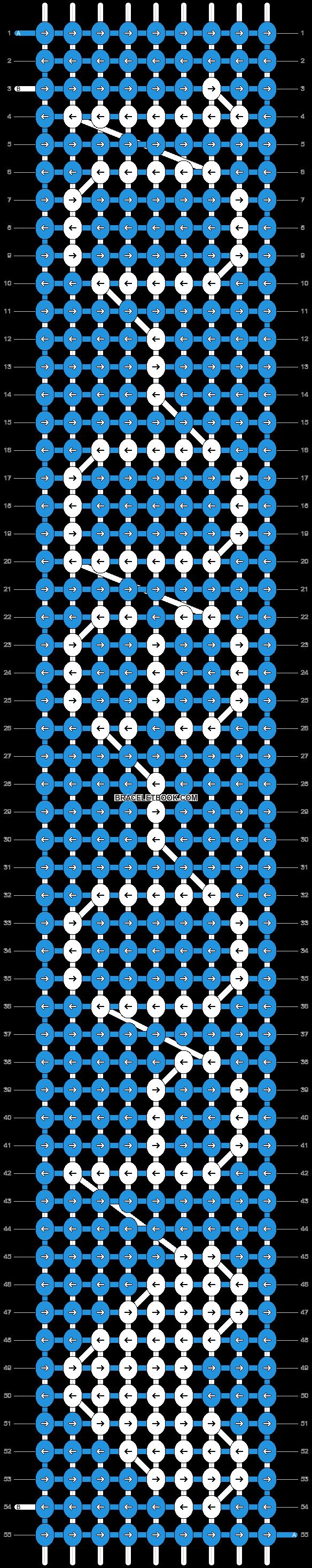 Alpha pattern #6450 pattern