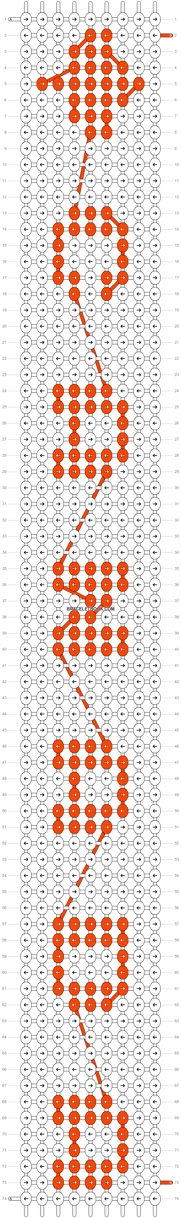 Alpha pattern #6457 pattern
