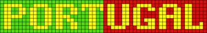 Alpha Friendship Bracelet Pattern #6459