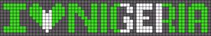 Alpha Friendship Bracelet Pattern #6460