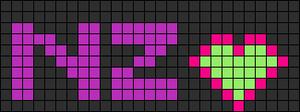Alpha pattern #6463