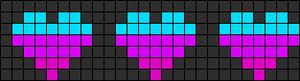 Alpha pattern #6465