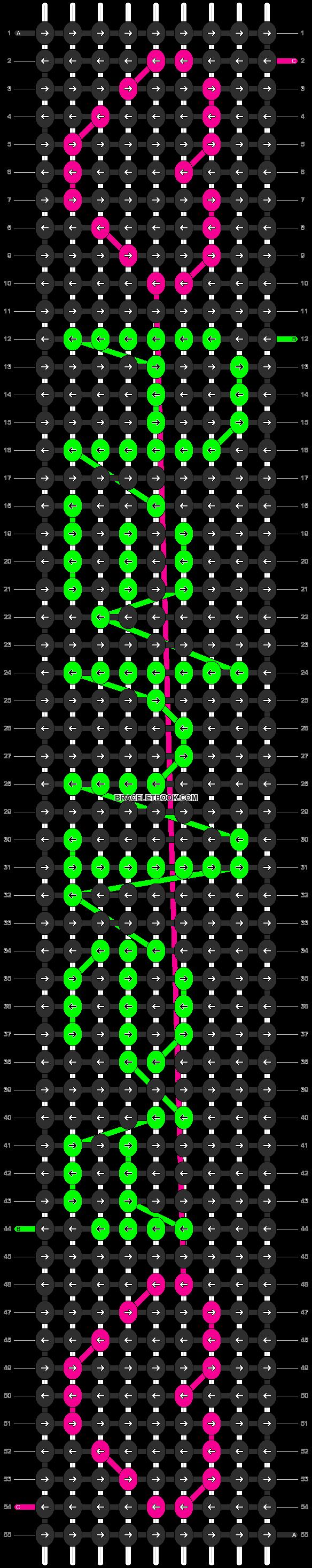 Alpha pattern #6472 pattern