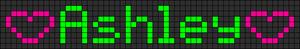 Alpha pattern #6472