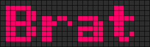 Alpha pattern #6477