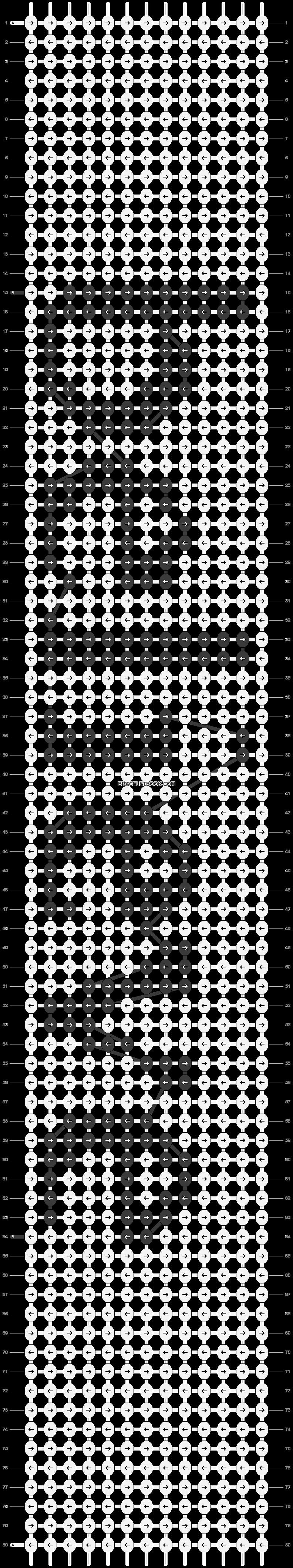 Alpha pattern #6480 pattern