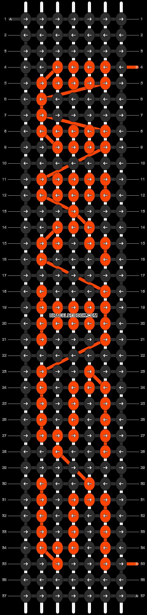 Alpha pattern #6485 pattern