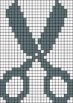 Alpha pattern #6487