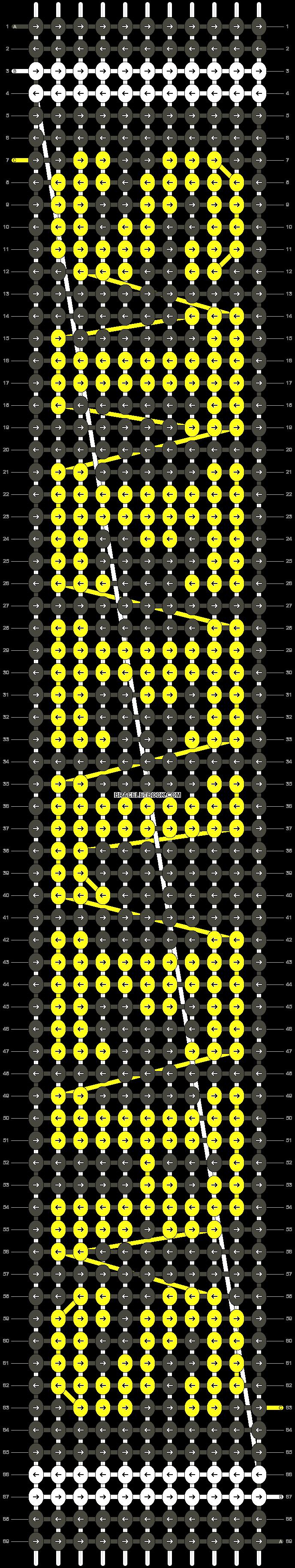 Alpha pattern #6490 pattern