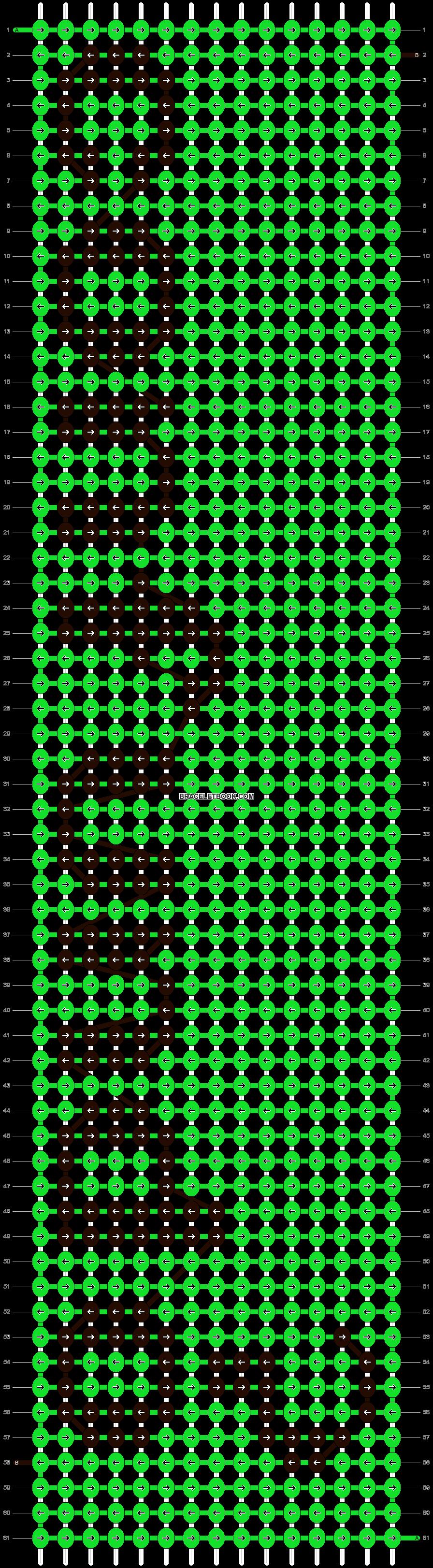 Alpha pattern #6492 pattern