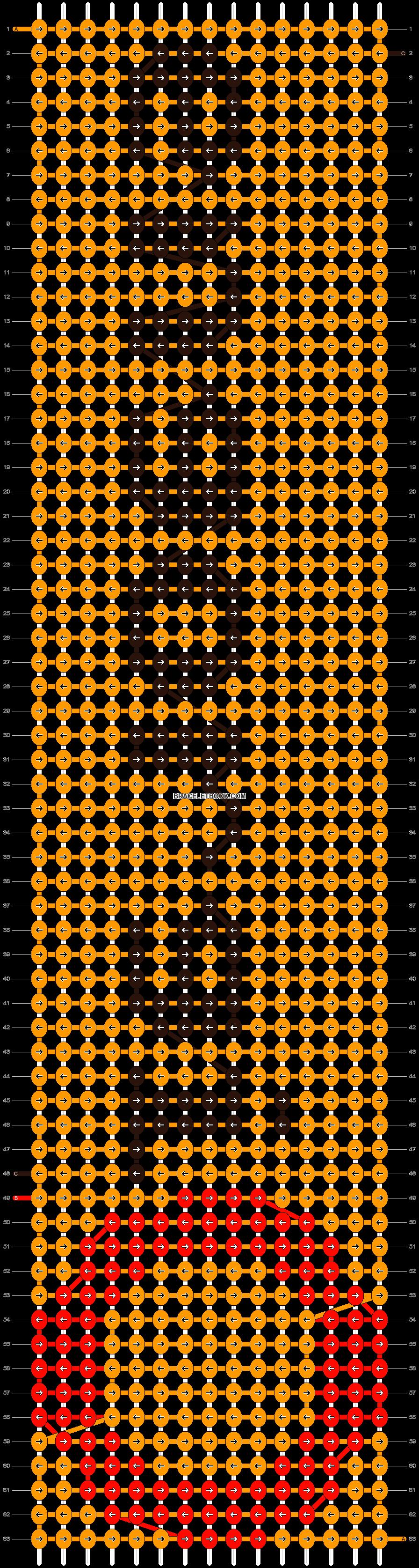 Alpha pattern #6493 pattern