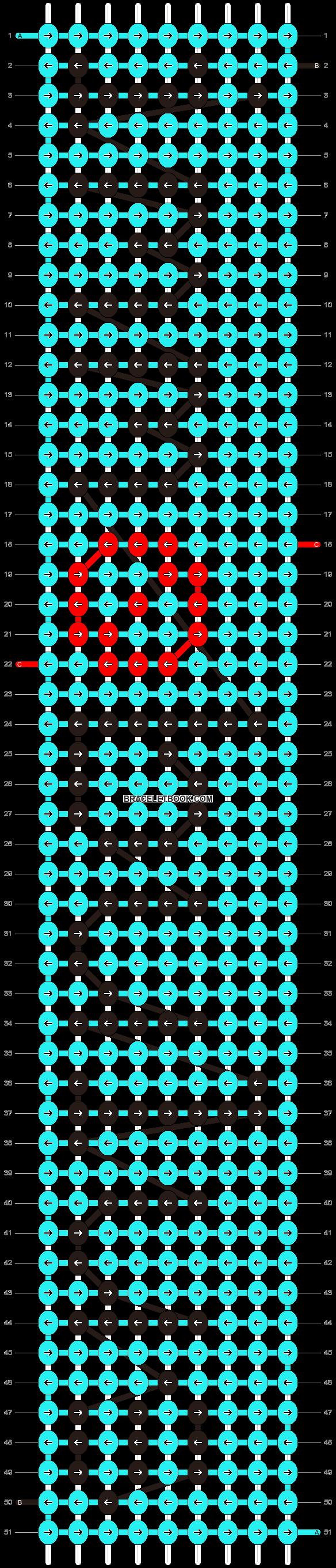 Alpha pattern #6494 pattern